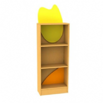 Childrens Novelty Honeybee Bookcase with Feature Panels